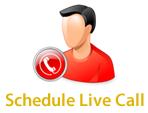 Schedule Live Call